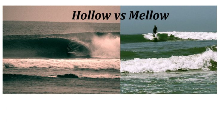 Hollow and mellow wave