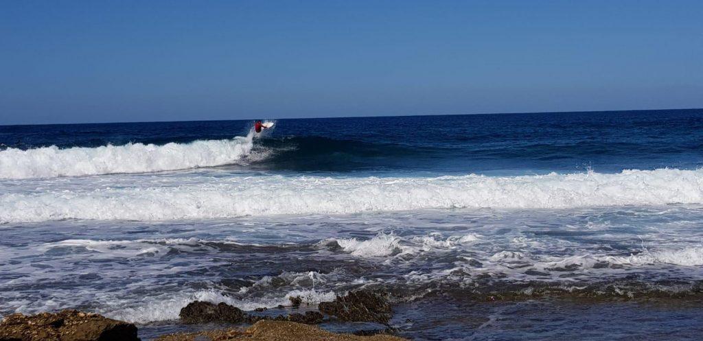 Chasing nice swells