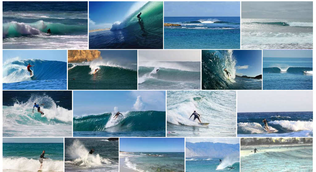 Surfing In Sardinia