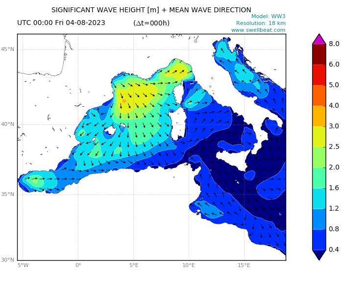 Mediterranean wave forecast